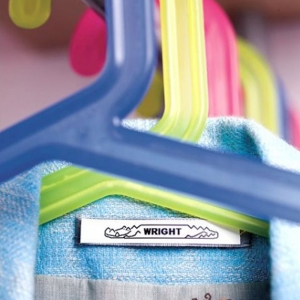 Set DYMO Letratag Iron-On 10 plus 1, etichete pentru haine, 12mm x 4m, alb 11 bucati/set DY18769P 187698