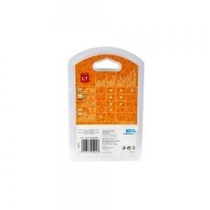 Etichete plastic autocolante DYMO LetraTag, 12mmx4m, albe, S0721610 S0721560 S072166012