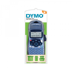 Dymo LetraTag LT-100H Plus Blue, ABC keyboard, included 1 tape Letratag labels white paper S08839902
