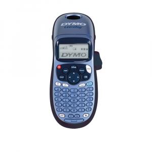 Etichetator Dymo LetraTag LT-100H Plus Albastru, tastatura ABC, S0883980, 19757UK0