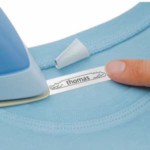 Etichetator Dymo LetraTag LT-100T, compact si portabil, tastatura AZERTY, editare eticheta pe 2 randuri S075838010