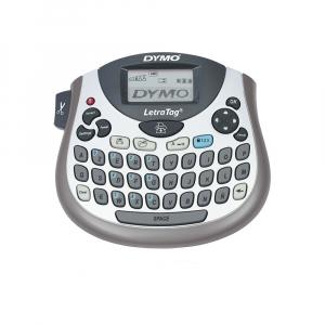Etichetator Dymo LetraTag LT-100T, compact si portabil, tastatura AZERTY, editare eticheta pe 2 randuri S07583800