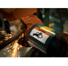 DYMO XTL etichete autoadezive semnalizare, header portocaliu, 51mm x 102mm, 18687131