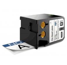 DYMO XTL etichete autoadezive semnalizare, header NOTICE, 51mm x 102mm, 18687150