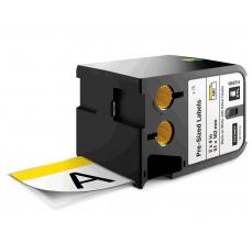 DYMO XTL etichete autoadezive semnalizare, header galben, 51mm x 102mm, 18687140