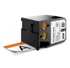 DYMO XTL etichete autoadezive semnalizare, header portocaliu, 51mm x 102mm, 18687130