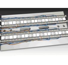 Etichete industriale autoadezive, DYMO XTL, poliester permanent, 12mm x 9m, negru/alb, 18687371