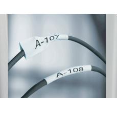 DYMO XTL tub termocontractibil (etichete industriale) 6mm x 34mm alb 18687172
