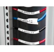 DYMO XTL tub termocontractibil (etichete industriale) 24mm x 2.7m alb 18688113