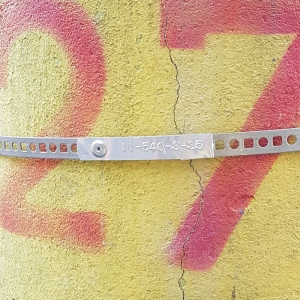 Etichete compatibile metalice embosabile industriale DYMO, 12mmx4m, aluminiu, 31000 S0720160-C9