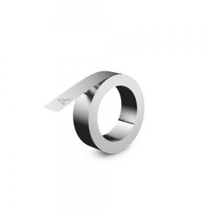 Etichete compatibile metalice embosabile industriale DYMO, 12mmx4m, aluminiu, 31000 S0720160-C0