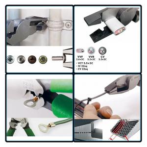ENGINEER PZ-79 Cleste patent combinat cu falci de forfecare, extragere suruburi uzate, strangere coliere din plastic sau metal, dinti dispusi hasurat pe falci, 215 mm1