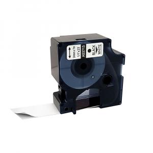 Etichete compatibile DYMO LabelManager D1 24mm x 7m, negru/alb, 53713 DY53713 S07209300