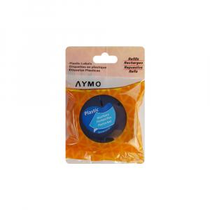 Etichete compatibile DYMO LetraTag 12mmx4m, plastic, albastru, 91205 DY912053