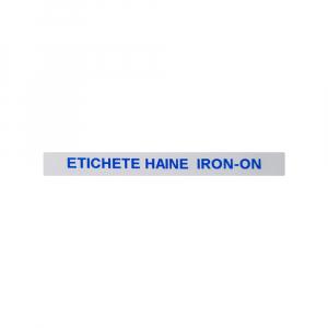 Etichete haine compatibile Dymo LetraTag Iron-On 12mmx2m, albastru pe alb, 18773 DYA187733