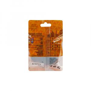 Etichete haine compatibile Dymo LetraTag Iron-On 12mmx2m, rosu pe alb, 18777 DYA187775