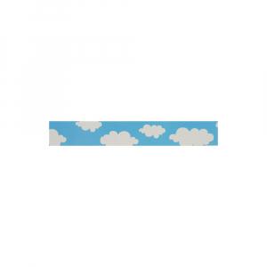 Etichete plastic autocolante compatibile 12mmx4m, nori, S0721610-C21