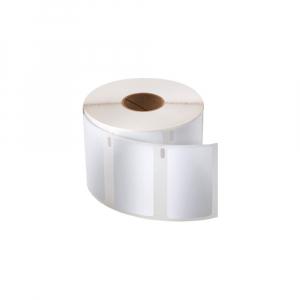 Etichete termice compatibile permanente, 57mmx32mm, hartie alba, 1 rola, 1000 etichete/rola, 11354 S07225400