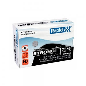 Capse 73/6  Rapid 5 000 buc/cutie SUPER STRONG, 248902000