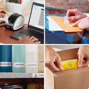 Imprimanta termica etichete DYMO LabelWriter 550, senzor recunoastere eticheta, aparat de etichetat, priza UK 21127274