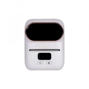 Imprimanta termica portabila M110 Bluetooth aparat de etichetat cu etichete in rola, acumulator Li-Ion 1500 mAh, cablu date, rola suport etichete ajustabila0