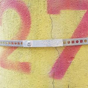 Etichete metalice embosabile industriale DYMO, 12mmx3,65m, aluminiu adeziv, 35800 S072018010