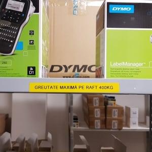 Aparat etichetat industrial Dymo Rhino 4200 kit cu servieta, QWERTY, S01852996, 18529963