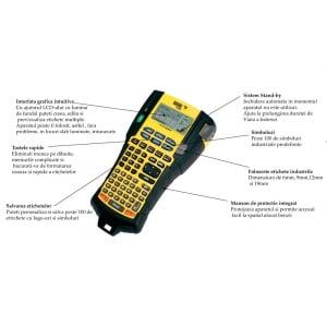 Aparat etichetat industrial Dymo Rhino 5200, ABC, 19mm, S0841400 S084146010