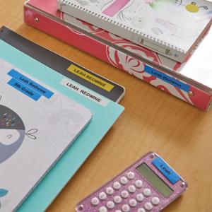 Set EtichetatorDymo LetraTagLT-100H Plus Black Edition, ABC si 3 benzi originale Dymo, rosu, galben si albastru8