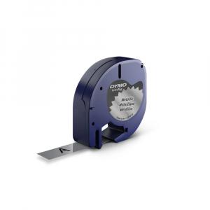 Etichetator/masina de etichete Dymo LetraTag Black Editie Limitata si 4 benzi originale Dymo, 2 x alb, galben si argintiu18