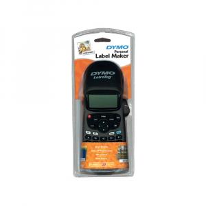 Etichetator Dymo LetraTag LT-100H Plus Black Edition, tastatura ABC, include 1 banda etichete Letratag hartie alba 21251972