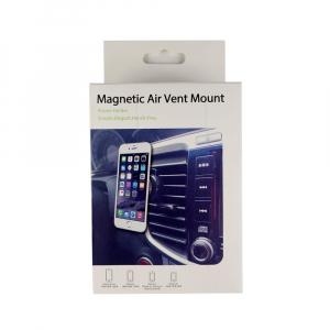 Suport telefon mobil magnetic cu montaj pe ventilatia masinii5