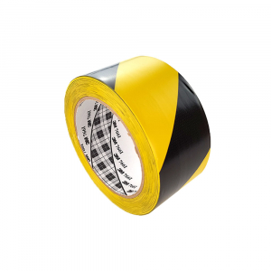 Banda marcare/protectie, 2 culori, 3M 766i vinil, galben/ negru, 50mm x 33m 700062998310