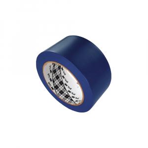 Banda marcare/protectie 3M 764i vinil albastru, 50mm x 33m, marcare terenuri sport indoor, 700062998070