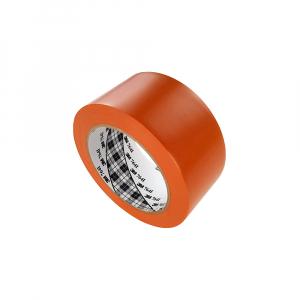 Banda marcare/protectie 3M 764i vinil orange, 50mm x 33m, marcare terenuri sport indoor, 700062998230