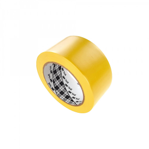 Banda marcare/protectie 3M 764i vinil galben, 50mm x 33m, marcare terenuri sport indoor, 700062996410