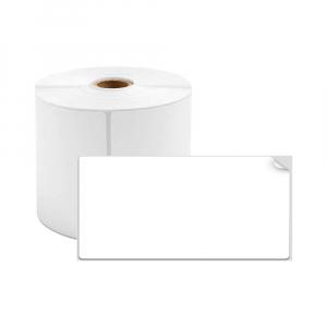 Etichete termice universale 30 x 15mm, plastic alb, permanente, 1 rola, 400 etichete/rola, pentru imprimanta M110 si M2000
