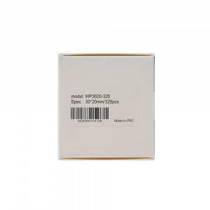 Etichete termice universale 30 x 20mm, plastic alb, permanente, 1 rola, 320 etichete/rola, pentru imprimanta M110 si M20018