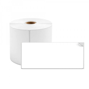 Etichete termice universale 40 x 15mm, plastic alb, permanente, 1 rola, 400 etichete/rola, pentru imprimanta M110 si M2000