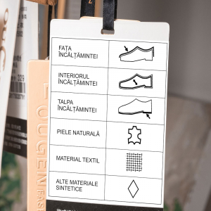 Etichete termice universale 40 x 30mm, plastic alb, permanente, 1 rola, 230 etichete/rola, pentru imprimanta M110 si M20012