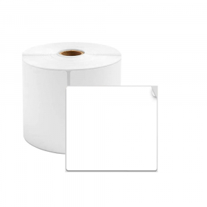 Etichete termice universale 40 x 30mm, plastic alb, permanente, 1 rola, 230 etichete/rola, pentru imprimanta M110 si M2000