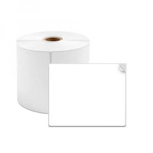 Etichete termice universale 40 x 40mm, plastic alb, permanente, 1 rola, 180 etichete/rola, pentru imprimanta M110 si M2000