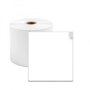 Etichete termice universale 40 x 60mm, plastic alb, permanente, 1 rola, 130 etichete/rola, pentru imprimanta M110 si M2000