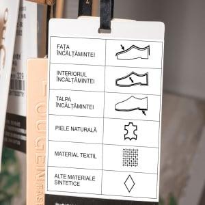 Etichete termice universale 40 x 80mm, hartie alba, permanente, 1 rola, 100 etichete/rola, pentru imprimanta M110 si M20012