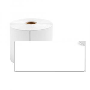 Etichete termice universale 45 x 15mm, plastic alb, permanente, 1 rola, 400 etichete/rola, pentru imprimanta M110 si M2000