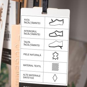 Etichete termice universale 45 x 20mm, plastic alb, permanente, 1 rola, 320 etichete/rola, pentru imprimanta M110 si M2009