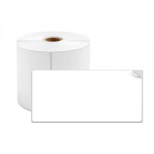 Etichete termice universale 45 x 20mm, plastic alb, permanente, 1 rola, 320 etichete/rola, pentru imprimanta M110 si M2000