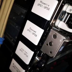 Etichete termice universale 45 x 70mm, plastic alb, permanente, 1 rola, 110 etichete/rola, pentru imprimanta M110 si M2003