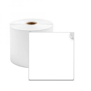 Etichete termice universale 45 x 70mm, plastic alb, permanente, 1 rola, 110 etichete/rola, pentru imprimanta M110 si M2000