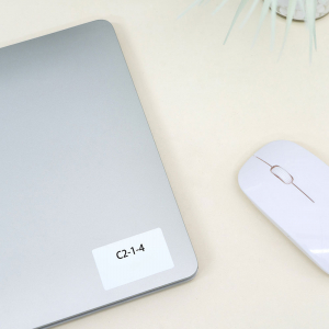 Etichete termice universale 50 x 30mm, plastic alb, permanente, 1 rola, 230 etichete/rola, pentru imprimanta M110 si M2003